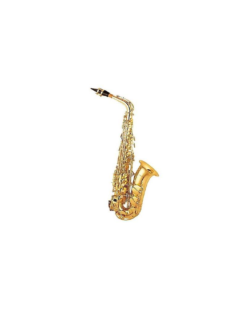 Saxofon alto Mib estudio lacado. Logan.