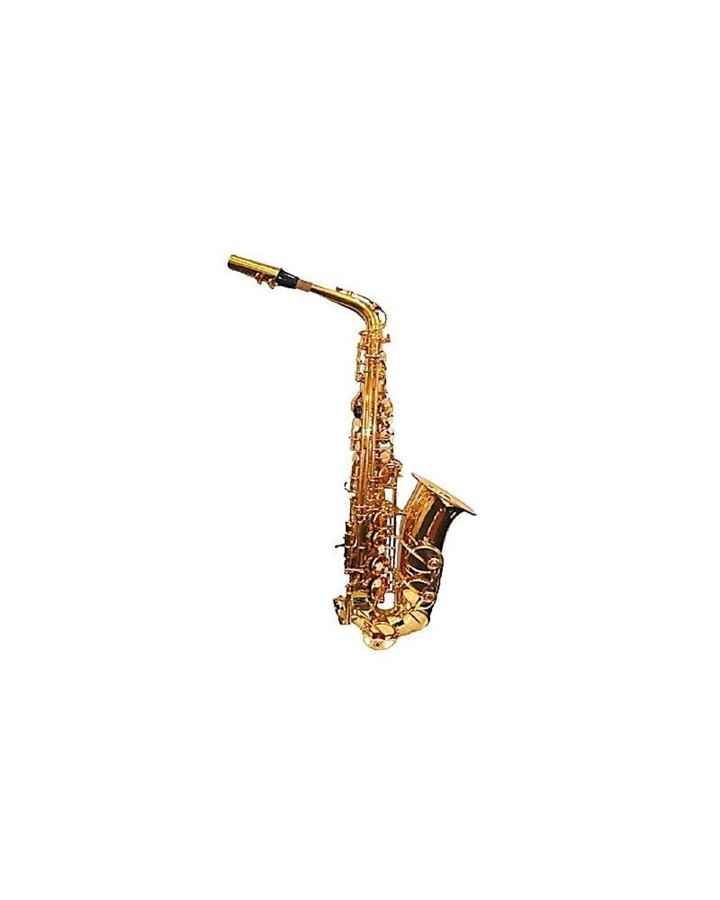 Saxofon alto Mib profesional. Logan.Lacado oro.