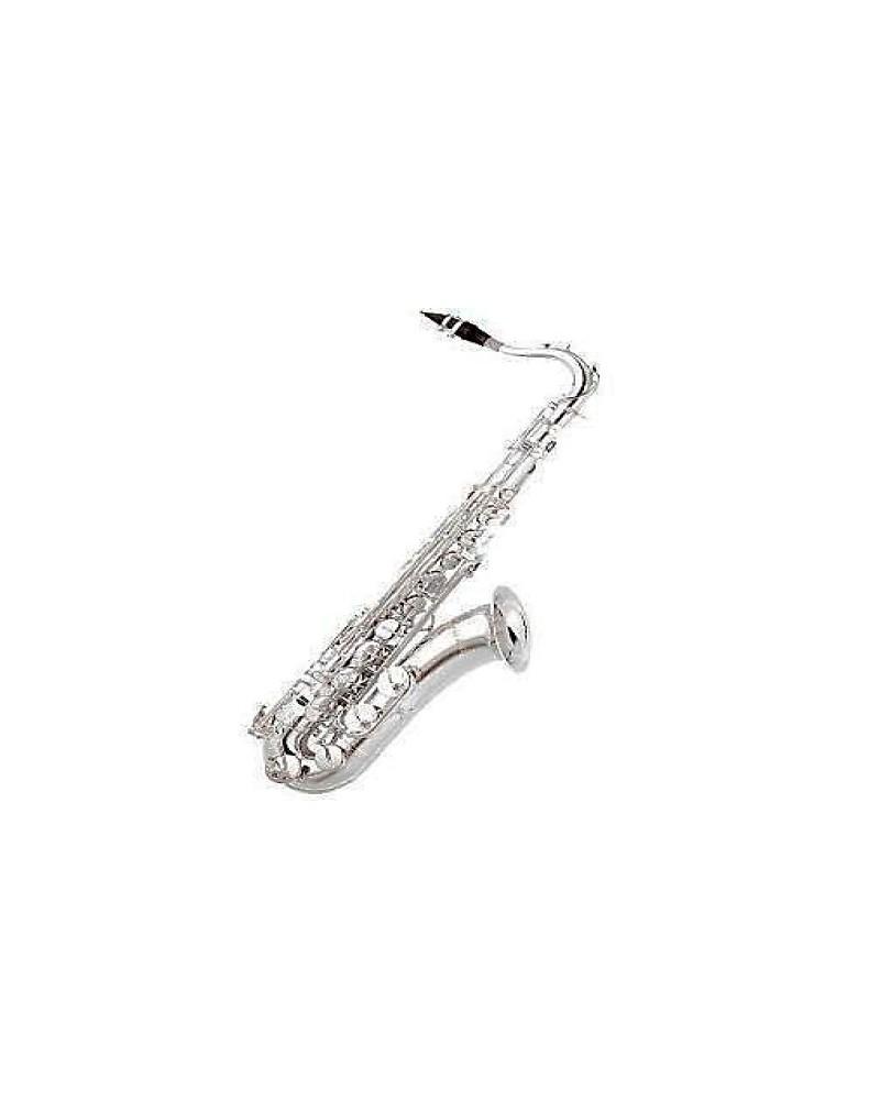 Saxofon tenor Sib Estudio Plateado. Logan.