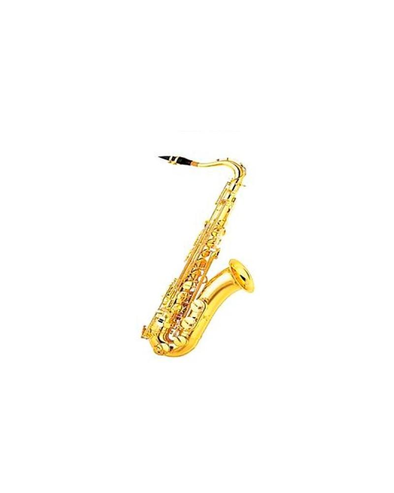Saxofon Tener Sib profesional.Lacado oro. Logan.