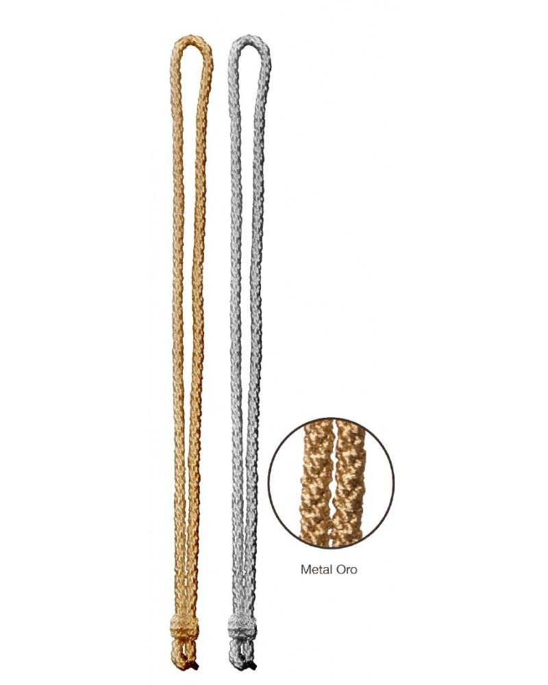 Cordón medallero de metal