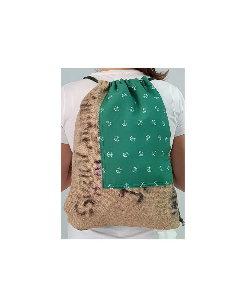 Mochila de L en saco