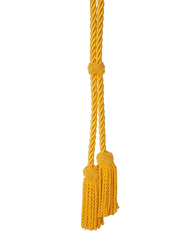 Cíngulo o cordón de 3 patas de 10mm borla cuadradillo fleco trenzado