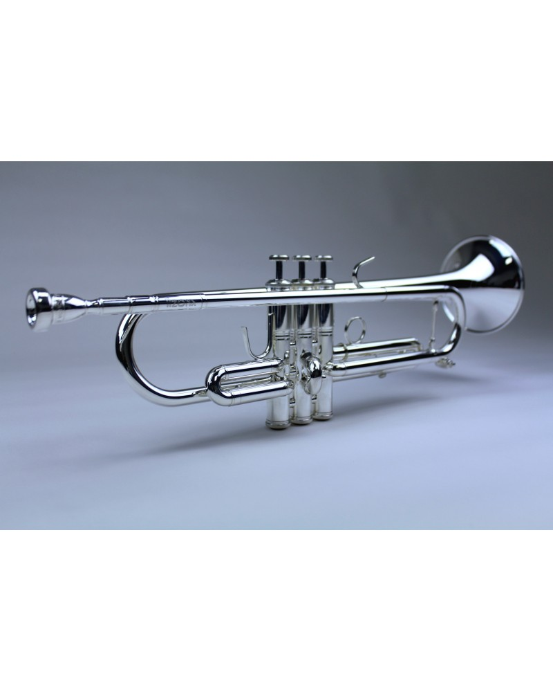 Trompeta Sib Tizona Honorato plateada