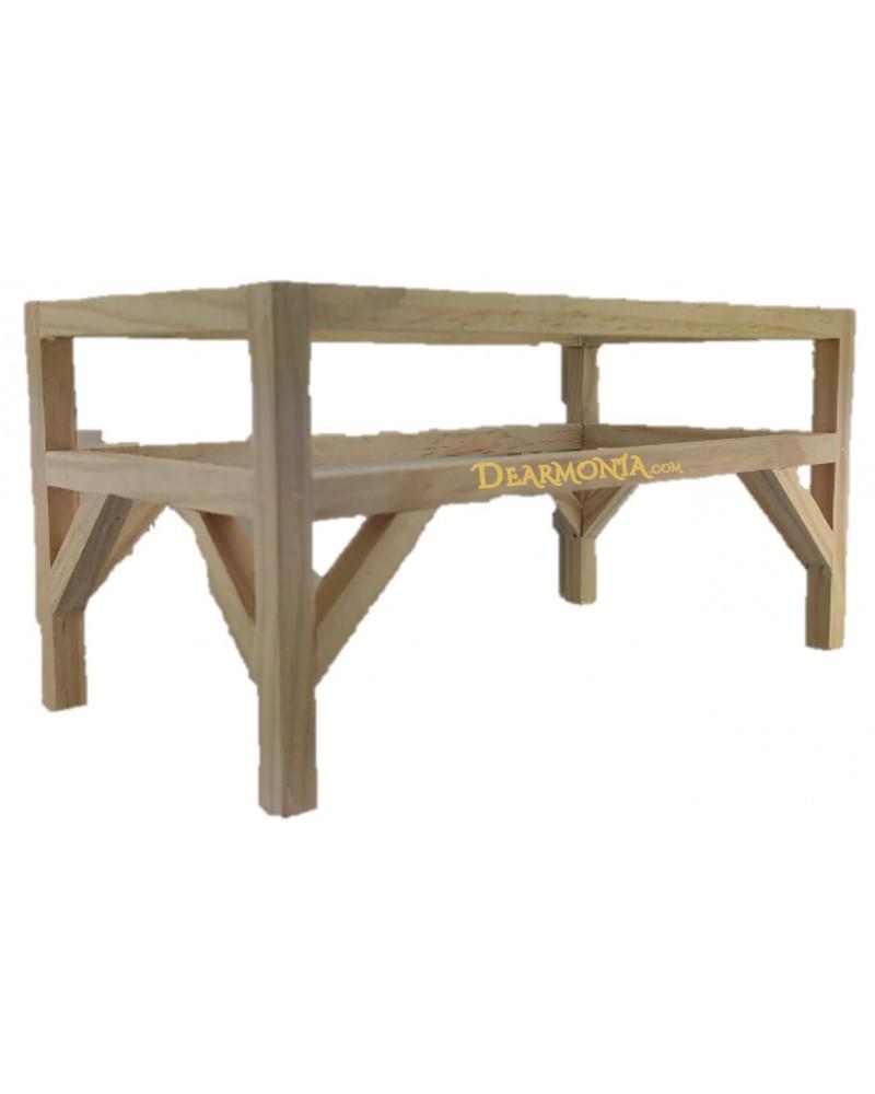 parihuela de madera