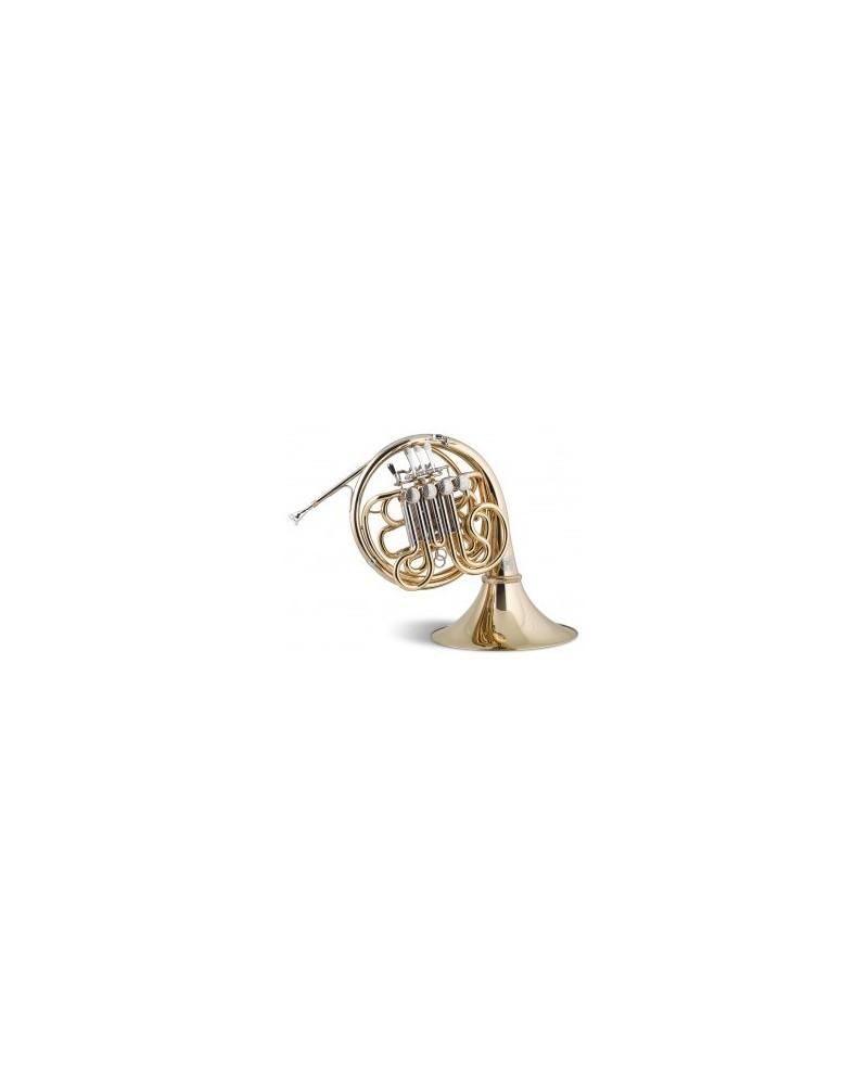 Trompa Titán SEIS Sib/Fa plateada (Sistema Geyer), Stomvi