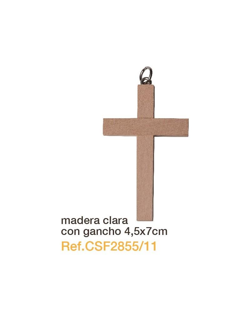 Cruz de madera 4.5 x 7 primera comunión