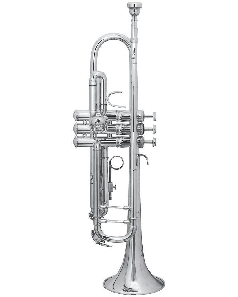 Trompeta TR-501S Sib Bach Plateada