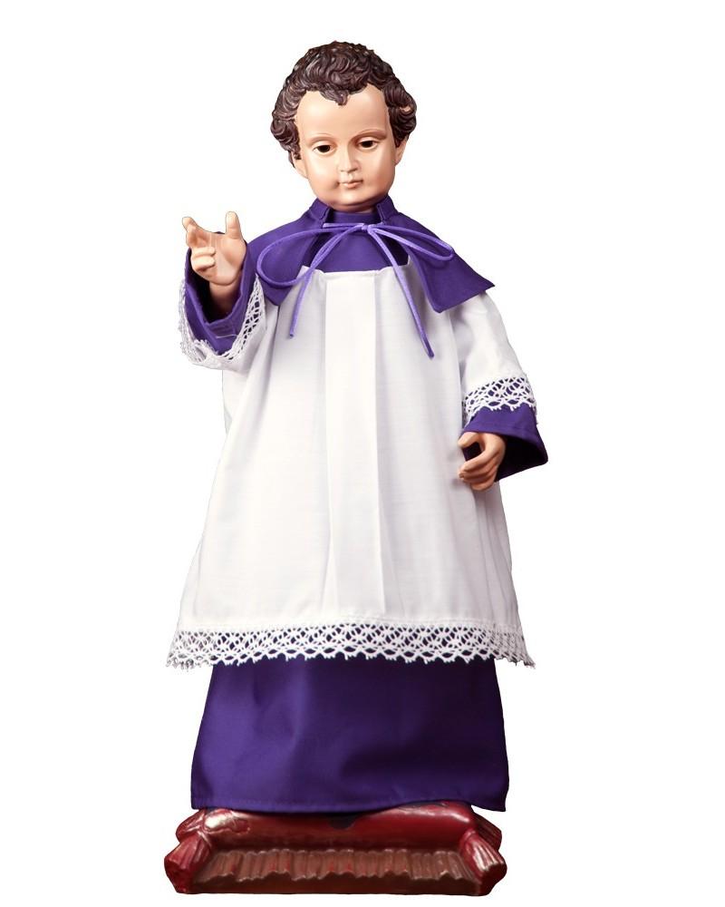 Hábito de monaguillo con capillo para niño Jesús