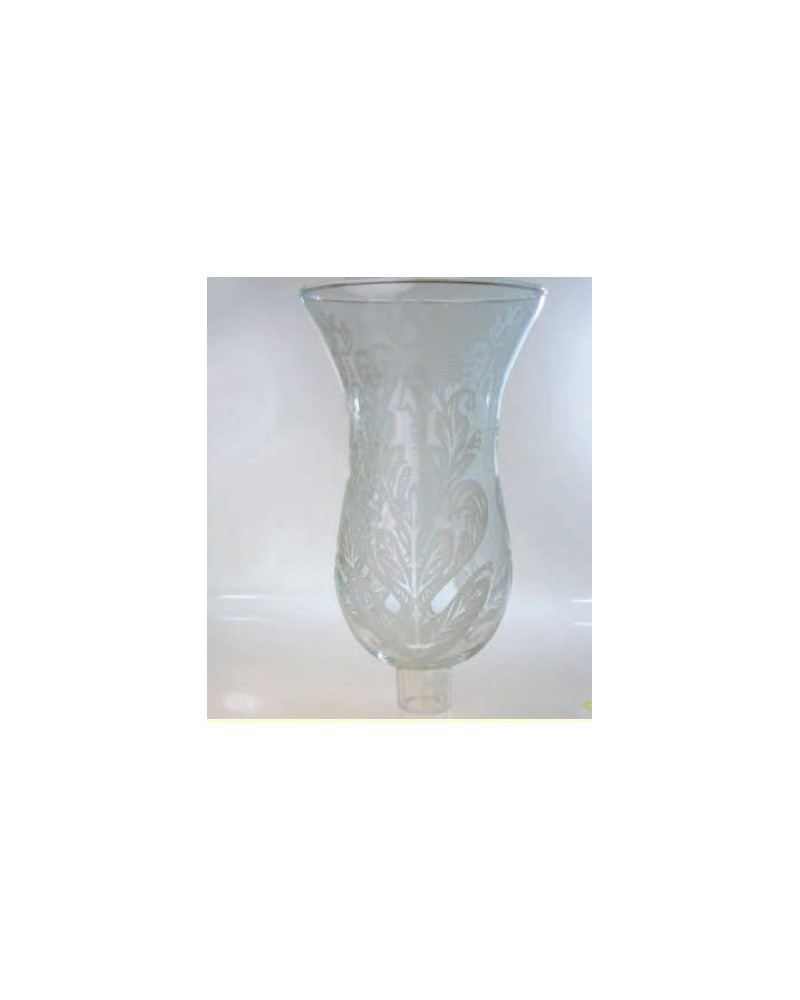 Tulipa de cristal decorada 1.Dearmonia.com