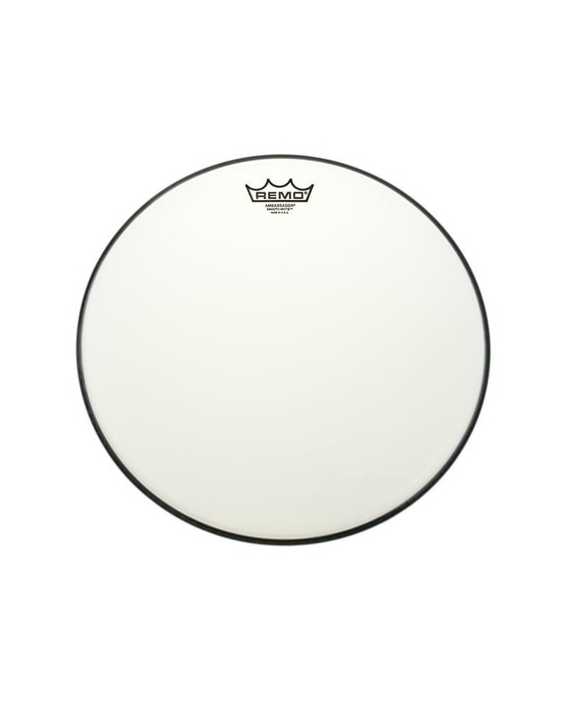 Parche Remo Ambassador smooth white