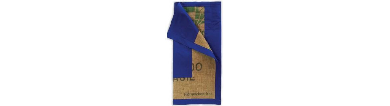 Costal de arpillera o costal de saco de café para el costalero.