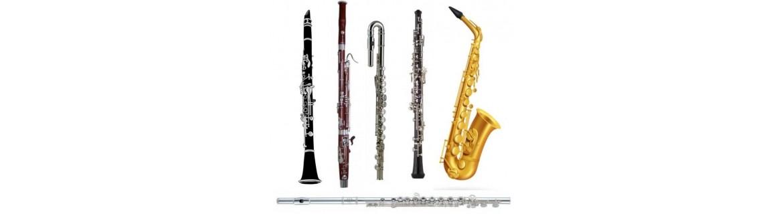 Viento madera instrumentos