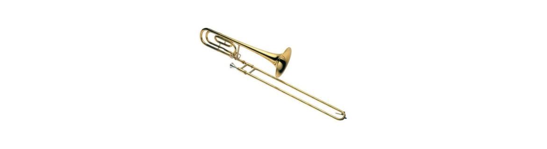 Trombón de varas para niños aficionados y profesionales